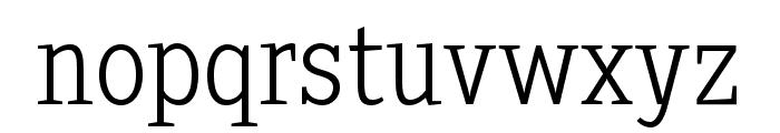SextanLight Font LOWERCASE