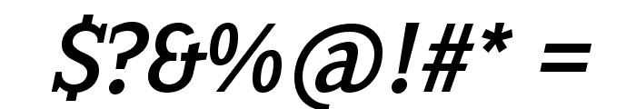 SextanRoman-Italic Font OTHER CHARS