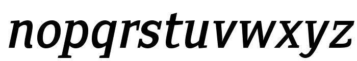 SextanRoman-Italic Font LOWERCASE