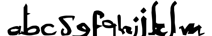 Sexy MF Font LOWERCASE