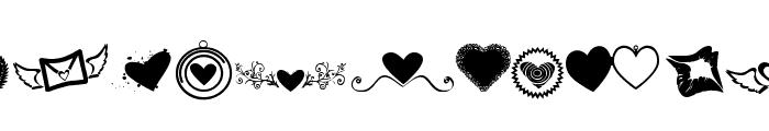 SexyRexy-Smitten Font UPPERCASE