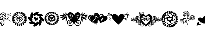 SexyRexy-Smitten Font LOWERCASE