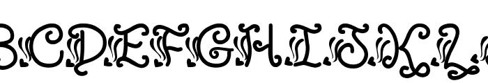 SexyRexy Font UPPERCASE