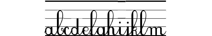 SeyesNDE Font LOWERCASE