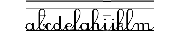 SeyesNDL Font LOWERCASE