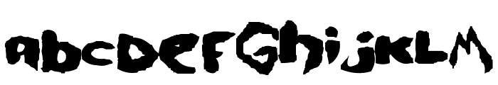 se7en Font UPPERCASE