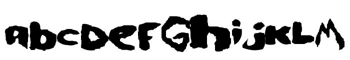 se7en Font LOWERCASE