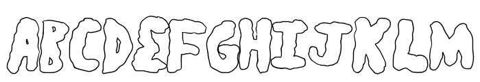 secretsaucelight Font UPPERCASE