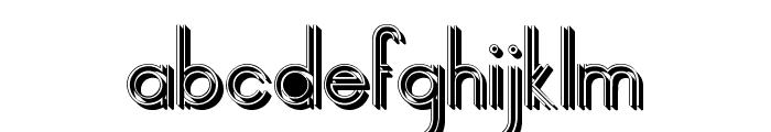 selari 3D Font LOWERCASE