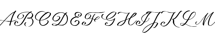 seriousSally_Broad_Trial Font UPPERCASE