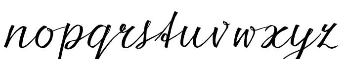 seriousSally_Broad_Trial Font LOWERCASE