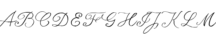 seriousSally_Trial Font UPPERCASE