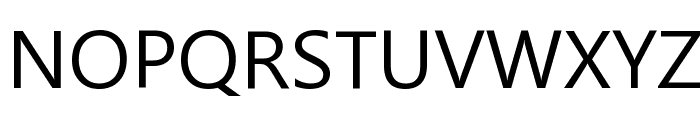 Segoe UI Historic Font UPPERCASE