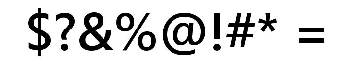 Segoe UI Semibold Font OTHER CHARS
