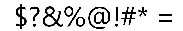 Segoe UI Font OTHER CHARS