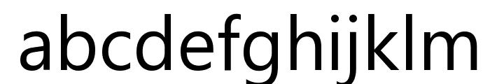 Segoe UI Font LOWERCASE