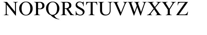 Sean Medium Font UPPERCASE