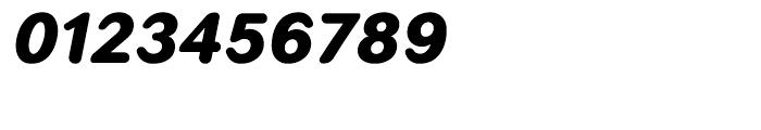 Seconda Round Black Italic Font OTHER CHARS
