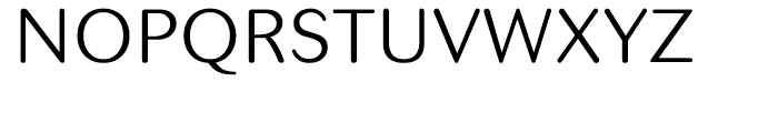 Seconda Round Light Font UPPERCASE