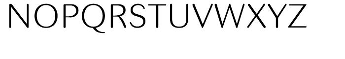 Seconda Round Thin Font UPPERCASE