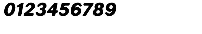 Seconda XtraSoft Black Italic Font OTHER CHARS