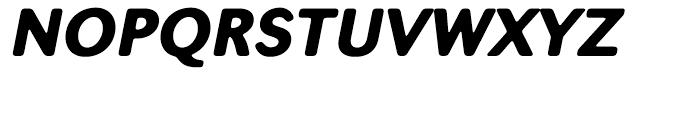 Seconda XtraSoft Black Italic Font UPPERCASE