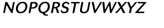 Seconda XtraSoft Demi Italic Font UPPERCASE