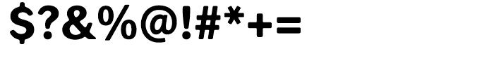 Seconda XtraSoft Heavy Font OTHER CHARS