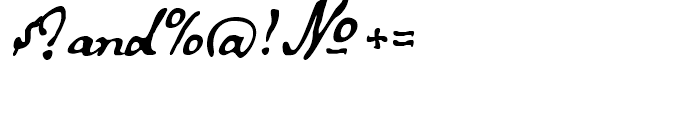 Secret Scrypt Three Font OTHER CHARS