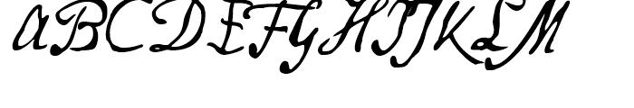Secret Scrypt Three Font UPPERCASE