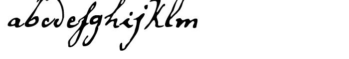 Secret Scrypt Three Font LOWERCASE