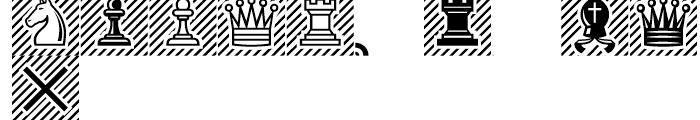 Segoe Chess Regular Font UPPERCASE