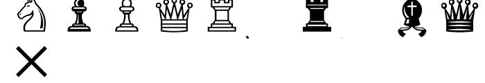 Segoe Chess Regular Font LOWERCASE