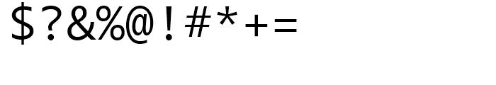 Segoe Mono Regular Font OTHER CHARS