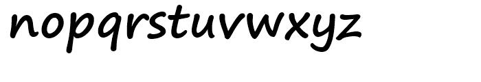 Segoe Print Bold Font LOWERCASE