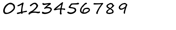 Segoe Print Regular Font OTHER CHARS