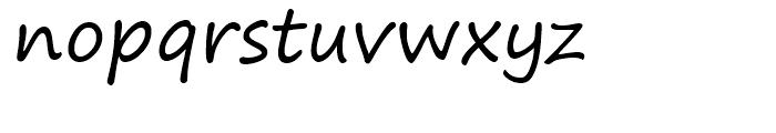 Segoe Print Regular Font LOWERCASE