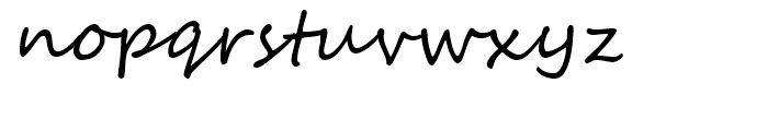 Segoe Script Regular Font LOWERCASE