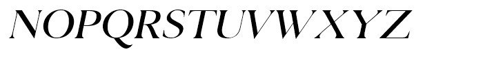 Selune Clair Italic Font UPPERCASE