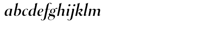 Selune Clair Italic Font LOWERCASE