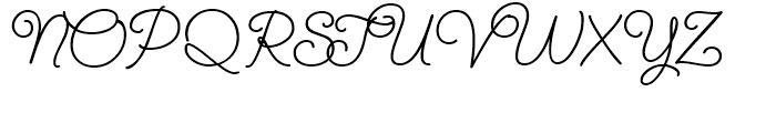 SendFlowers ROB ROB Font UPPERCASE