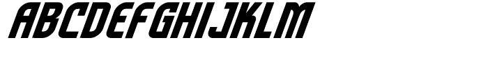 Sentinel Bold Italic Font UPPERCASE