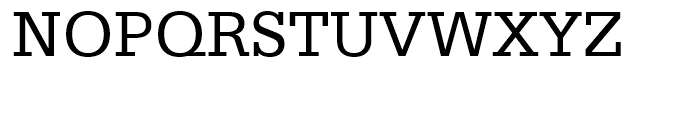 Serifa Roman Font UPPERCASE