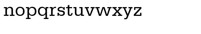 Serifa Roman Font LOWERCASE