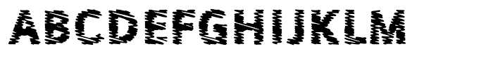 Sewn L Font UPPERCASE