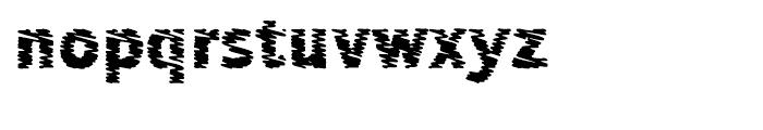 Sewn L Font LOWERCASE