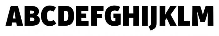 Secca Black Font UPPERCASE