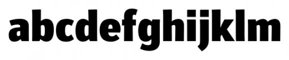 Secca Black Font LOWERCASE