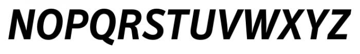 Secca Bold Italic Font UPPERCASE