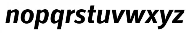 Secca Bold Italic Font LOWERCASE